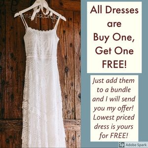 👗 BOGO FREE on all dresses!